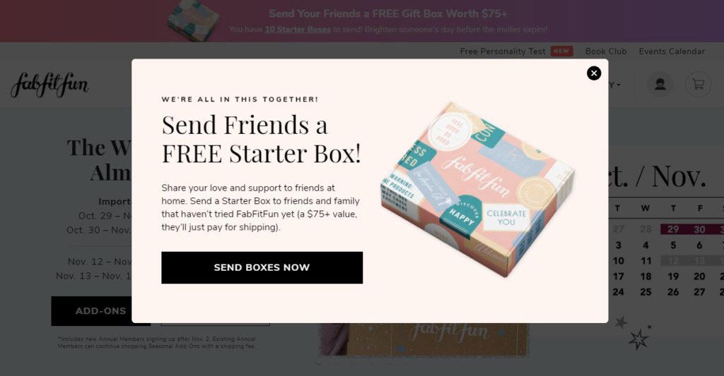 fabfitfun starter box overview - subscription Box Expert