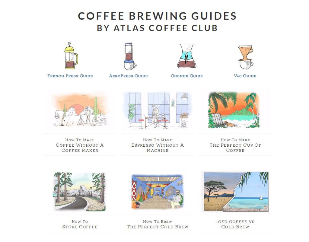 Atlas Coffee Club Brew Guide