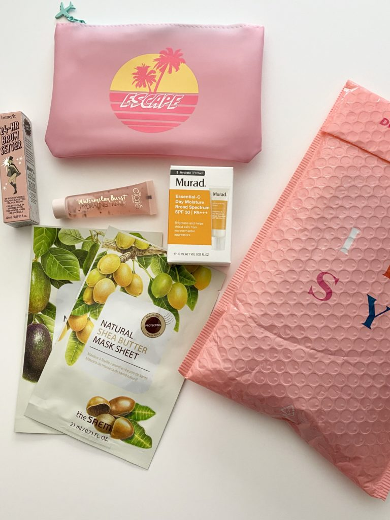 IPSY Glam Bag: July 2020 Review