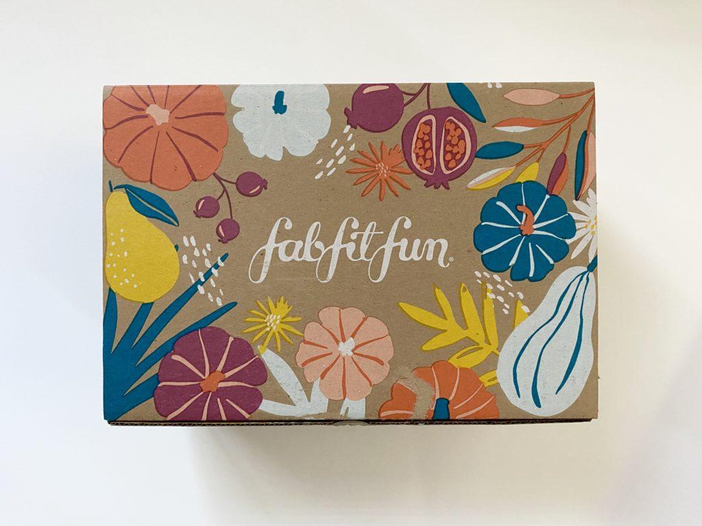 FabFitFun Fall Box 2020 Product Review