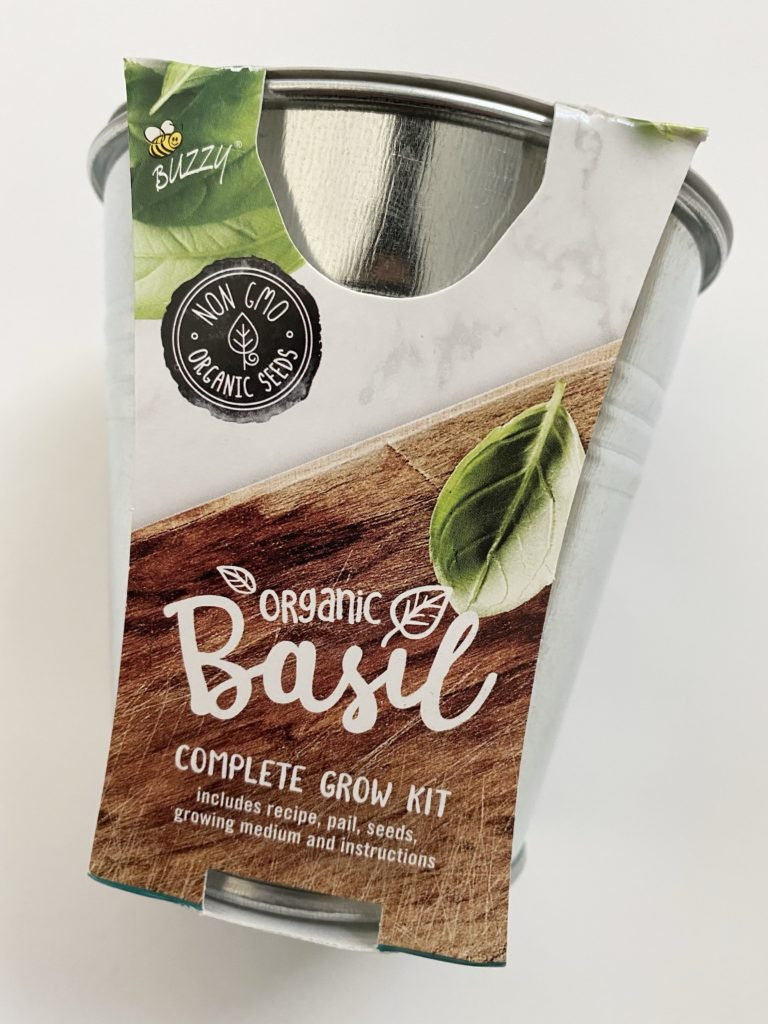CAUSEBOX Fall 2020 Subscription Box Review - Basil Grow Kit