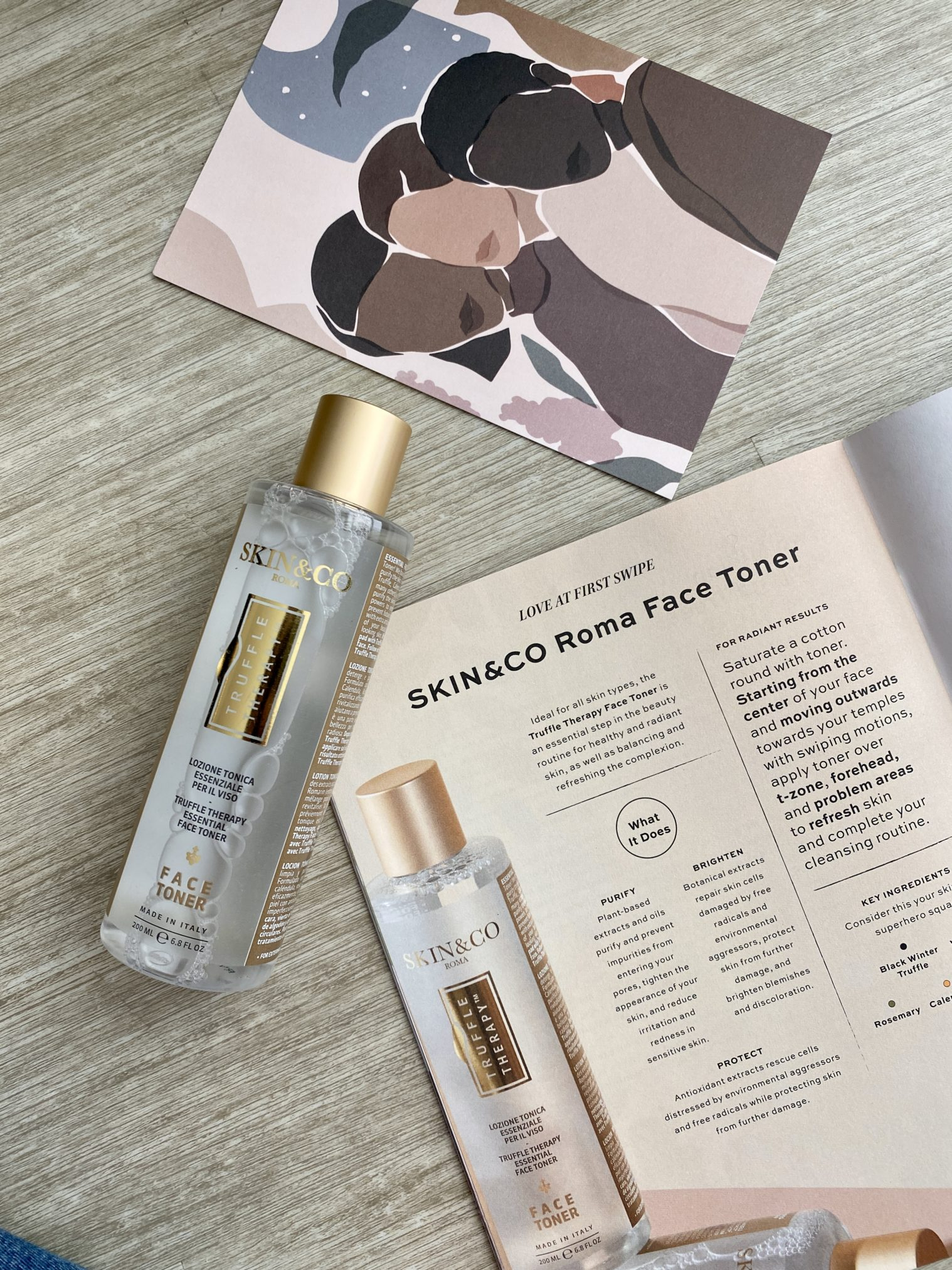 SKIN & CO. Truffle Therapy Face Toner - Causebox Winter 2020 Review - SubscriptionBoxExpert