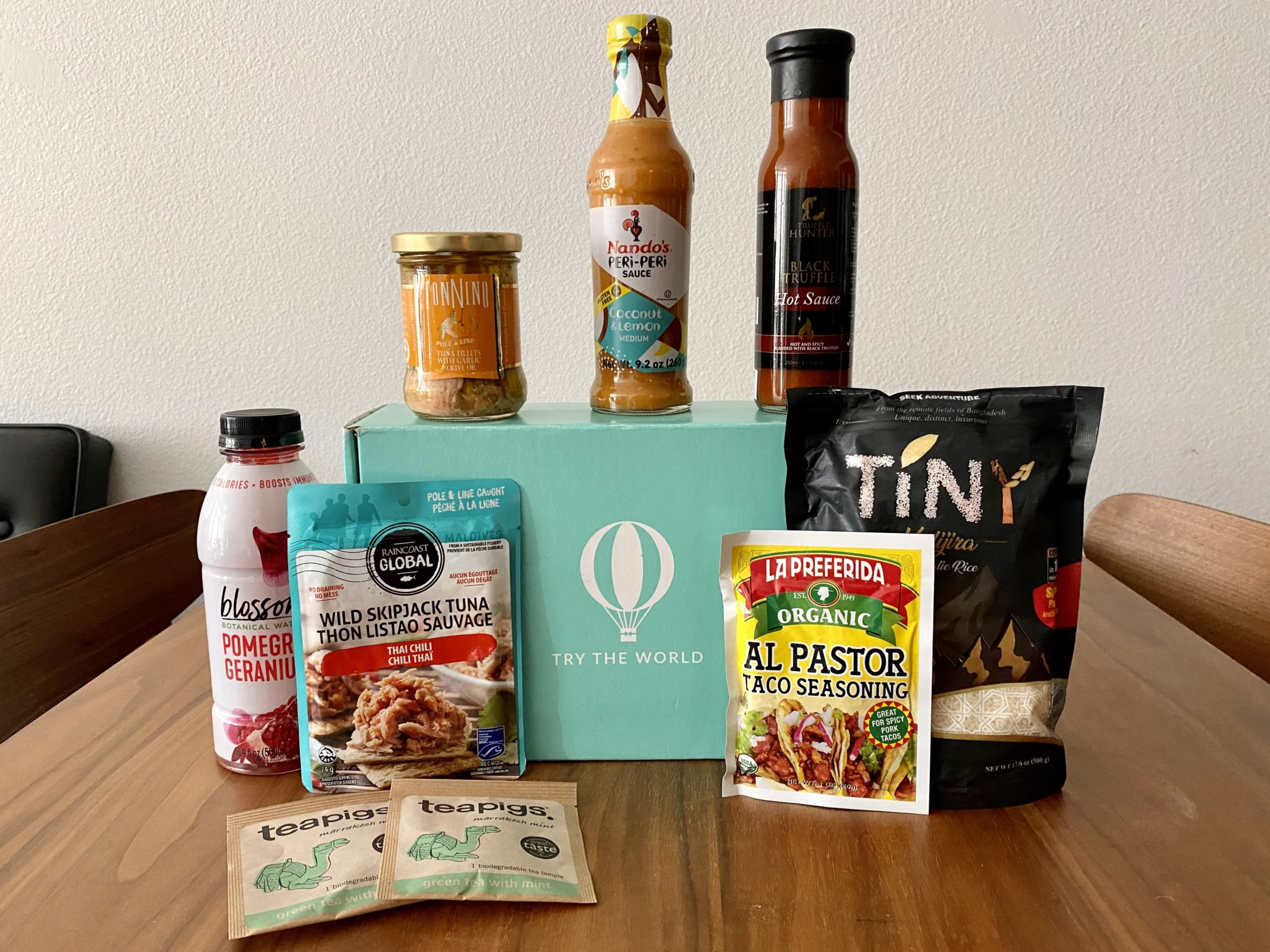 Try The World Subscription Box Review - SubscriptionBoxExpert